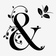 Ampersand Alphabet With Ornaments Vintage And Leaves Vector Vintage Lettering, Lettering Design, Letter B, Alphabet Letters, Quilling Letters, Wedding Icon, Letter Ornaments, Leaves Vector, Stencil Art