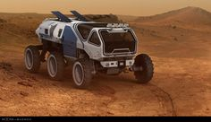 ArtStation - Rover for Moons of Madness., Sam Brown