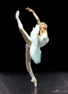 Svetlana Zakharova is pretty much the definition of perfection in ballet.