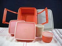 I still have one of these from the days when I sold them back in the 70's. Tupperware Pak-N-Carry lunchbox