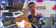 Polícia Militar faz aprenssões de produtos roubados e manda homem para prisão