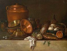 E. K. Lautter Kitchen Still Life 18th century