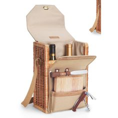 Found it at Wayfair - Corsica Wine & Cheese Picnic Basket