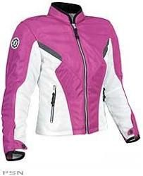 Pink motorcycle jacket I want  this to ride with the hubby!!