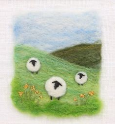 Shropshire-based textile artist and tutor Maxine Smith Felt Fabric, Fabric Art, Fabric Crafts, Wet Felting Projects, Needle Felting Tutorials, Felt Applique, Felt Embroidery, Felted Wool Crafts, Felt Crafts