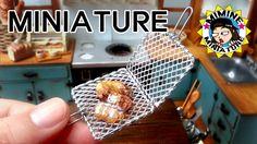 미니어쳐 석쇠 만들기 (쥐포 굽기 +ㅁ+)  Miniature - Grill / 미미네 미니어쳐