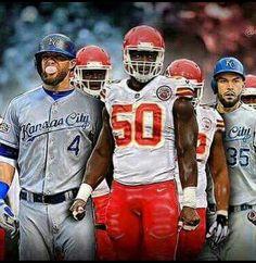 KC Kc Royals Baseball, Kansas City Chiefs Football, Football And Basketball, Kansas City Chiefs Apparel, Kansas City Royals, Kc Cheifs, City Pride, Sports Baby, Fan