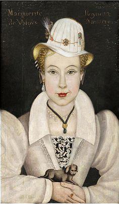 Margarita de Valois Reina Margot white hat | Flickr -