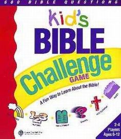 Kids Bible Challenge Game