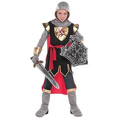 Amscan DRAGON  Knights Party Brave Crusader Costume Multicolor 143 X 95 >>> See this great product.