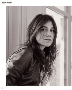 """""""Charlotte to New York"""" Charlotte Gainsbourg for Marie Claire France June 2015"""