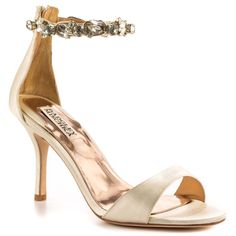 Klark II - Ivory Satin Badgley Mischka $274.99