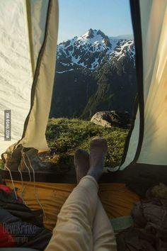 Camping in Alaska - Devin Krinke Photography