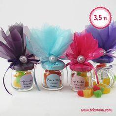 Nikah Şekeri Kavanoz Lokumlu, Renkli 3,5 TL #kavanoz #lokumlu #renkli #nikahşekeri #nikah #kına #nişan #düğün #tekomini WhatsApp: 538 490 98 10