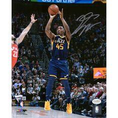 0217d5323 Donovan Mitchell Utah Jazz Fanatics Authentic 8
