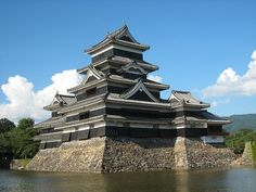 My original scenery: I believe considering original scenery is very important when creating a preschool rooted in a community. Matsumoto-castle, Nagano, Japan