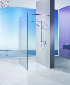 Matki Wetroom Twin Entrance Panel with Brace Bars Walk In Shower Screens, Walk In Shower Enclosures, Shower Doors, Walk In Shower Designs, Big Bathrooms, Safety Glass, Wet Rooms, Panel Doors, Glass Panels