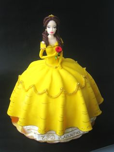 Princess Belle Cake <3