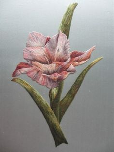 I ❤ embroidery . . . Royal School of Needlework Silk Shading ~By Gail Beer