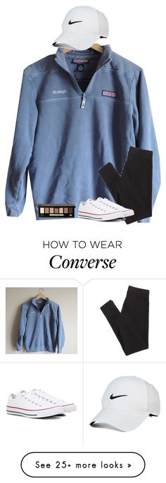 """""""Untitled #2849"""" by laurenatria11 on Polyvore featuring American Eagle Outfitters, Converse, Bobbi Brown Cosmetics and NIKE"""