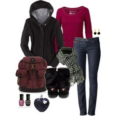"""""""Raspberry ice"""" by the-hourglass on Polyvore"""