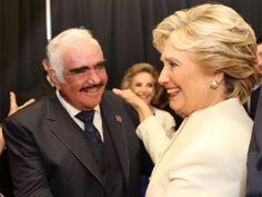 Vicente Fernández lanza otro video en apoyo a Hillary Clinton | El Puntero