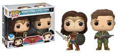 Funko: Wonder Woman-Exclusive Wonder Woman & Steve Trevor 2pk Funko Pop!