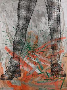 felixinclusis: julienfoulatier: Painting by Sigmar Polke.