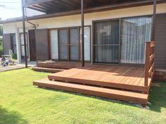 天然木ウッドデッキ / ナチュラルガーデン / ガーデンデザイン / 外構 Garden Design / Deck