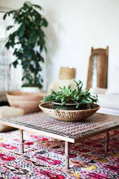Let your rug be the center of attention like this one from Lauren Soloff Los Angeles House