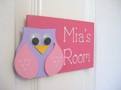Jenna's Owl bedroom