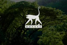 Monkey logo design on Behance