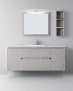 Muebles de baño de diseño moderno y contemporáneo. Muebles de baño fabricados para proyectos a medida . Fabricaciones especiales en medidas y materiales. Muebles de baño compactos o modulares. Lavabos y encimeras en materiales y diseños diversos.Mueble de baño retro iluminado #baños #mueblesdebaño
