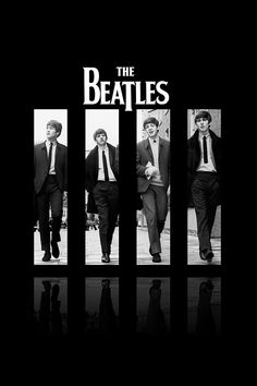 The Beatles - the British invasion came, and music was never the same. Poster Dos Beatles, Beatles Love, Les Beatles, Ringo Starr, George Harrison, Paul Mccartney, John Lennon, Great Bands, Cool Bands
