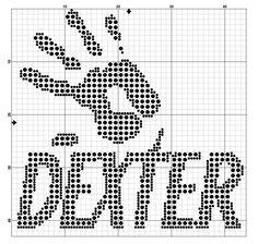 Dexter Cross Stitch Pattern