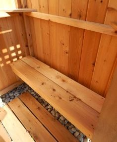 Outdoor Shower Cedar Free Standing