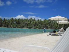 Paul Gauguin Cruise Line's Private Island for the day (Tahiti)