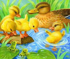 Leading Illustration & Publishing Agency based in London, New York & Marbella. Farm Pictures, Cute Cartoon Pictures, Cute Animal Pictures, Giraffe Crafts, Animal Crafts For Kids, Zoo Animals, Cute Animals, Cartoon Birds, Bird Illustration