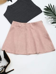 GET $50 NOW | Join Zaful: Get YOUR $50 NOW!http://m.zaful.com/faux-suede-mini-a-line-skirt-p_288089.html?seid=2757917zf288089