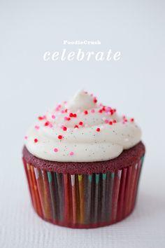 FoodieCrush Magazine Red Velvet Cupcakes