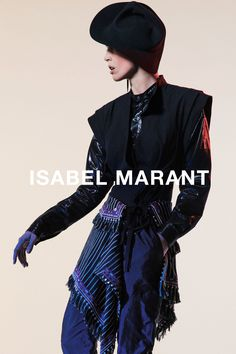 Raquel Zimmermann by Inez & Vinoodh for Isabel Marant Spring/Summer 2016 Campaign