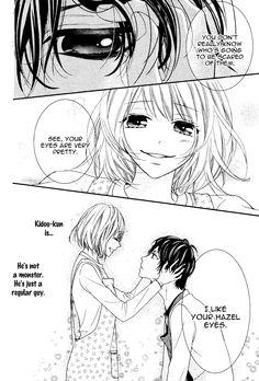 Read manga Bokura no Himitsu wo Kyouyuu Shiyou ka Vol.001 Ch.003: Kaibutsu-kun ni Rei online in high quality