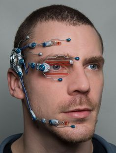 Technician cybernetic head system by DominicElvinDesign on Etsy, $120