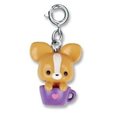 Charmit Pup in Cup Charm - $5.00