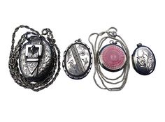 Silver lockets, or any kind of lockets can be sold to Vintage Cash Cow.