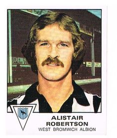 Alistair Robertston of West Bromwich Albuion - Football 80 - Panini - English & Scottish Leagues - West Bromwich, Football Season, Seasons, Baseball Cards, Seasons Of The Year