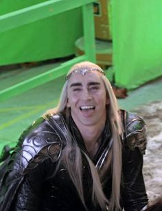 From The Hobbit: The Battle of the Five Armies Extended Edition BTS. ;)
