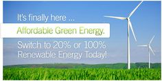 Green energy at affordable prices. Viridian Energy in: CT, IL, MD, MA, NJ, NY, PA - DE and DC coming soon. Take advantage great prices through deregulation. Sign up or call with any questions. (866) 969–8513