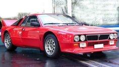 Lancia 037 Stradale with rear wing
