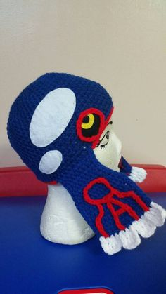Check out this item in my Etsy shop https://www.etsy.com/listing/471391639/crochet-pokemon-382-kyogre-inspired